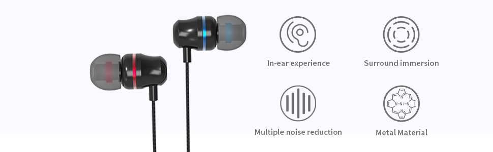 Each earbud is equipped with a high-quality 10mm neodymium magnet driver