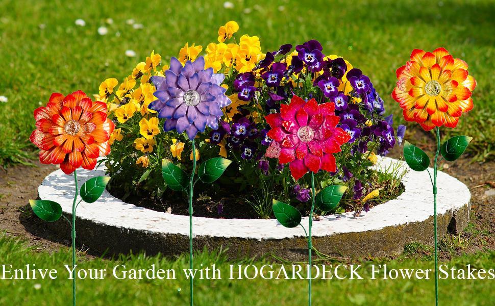 garden stakes decorative