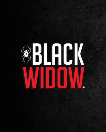 Black Widow brand story logo