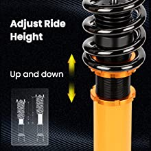 coilovers Shock Strut for Lexus LS430 2001 02 03 04 05 2006 Suspension Spring Coil Over Front Rear