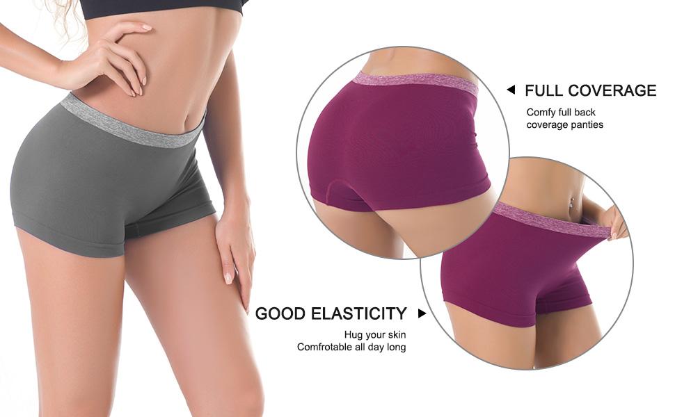 seamless boyshort underwear