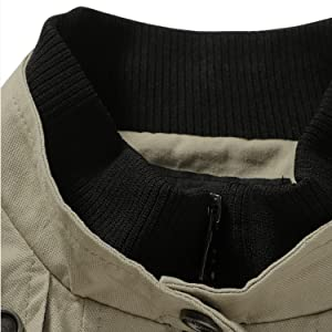 The stand collar is internally threaded for warmth