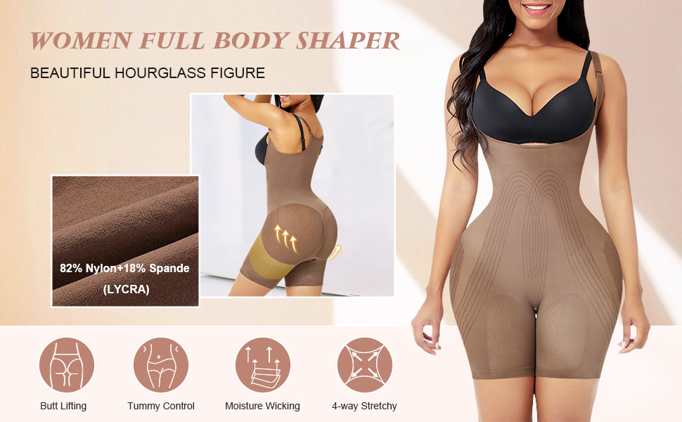 Shaperwear for women seamless body shaper