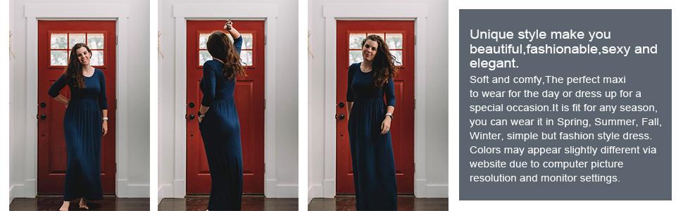 maxi dresses elegant