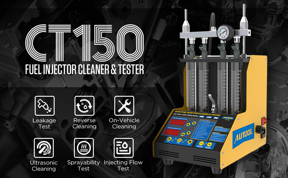 CT150 Fuel Injector Cleaner amp; Tester