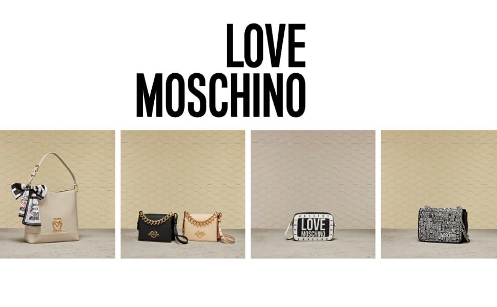 Taschen Love Moschino Herbst Winter fw 21 Store Vorsammlung