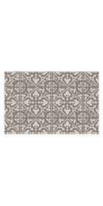 FlorArt Machine Washable Printed Mats for the Kitchen and Home