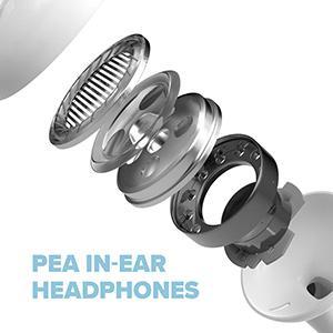 In-ear headphones,noise cancellation, earphones