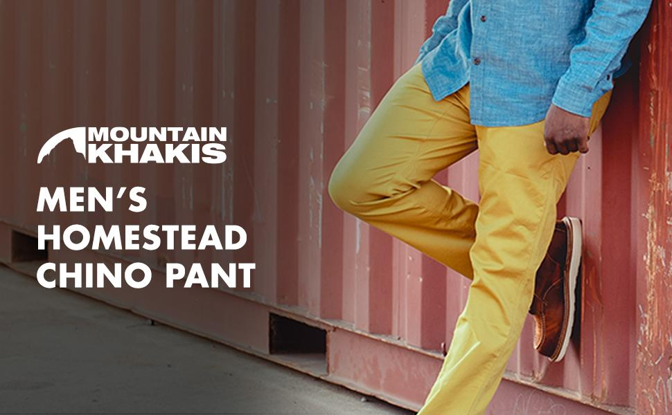 Mountain Khakis - Homestead Chino Pant Relaxed Fit