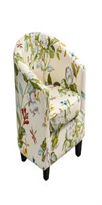 2 Piece Club Chair Cover
