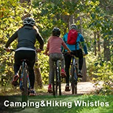 camping and hiking whistle