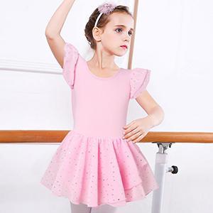 Pink Leotard Dress