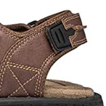 Sandal have adjustable Velcro strap