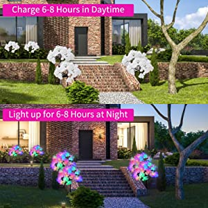 outdoor lights solar powered
