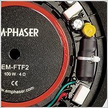 Frequenzweiche EMPHASER EM-FTF2 Lautsprecher für Fiat Ducato, Citroen Jumper, Peugeot Boxer