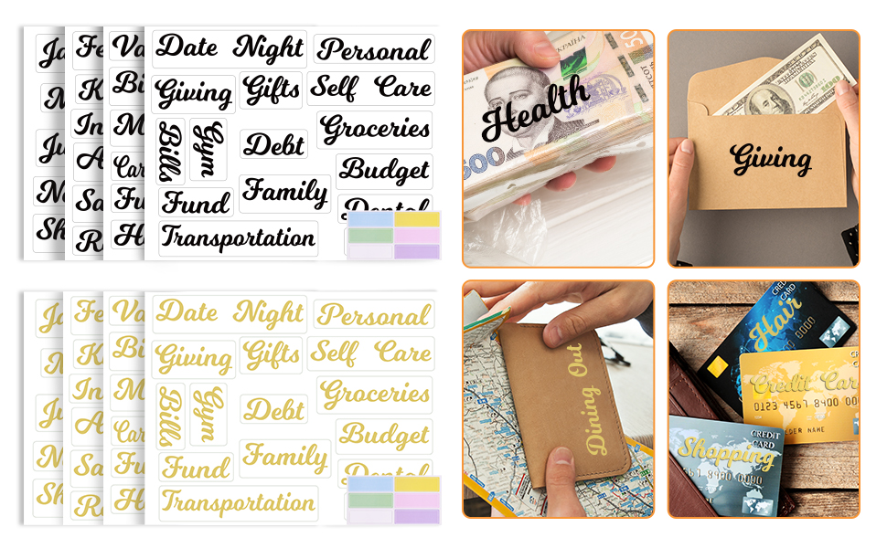 Budget Labels Wide Application