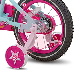 solid training wheels