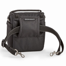 Removable shoulder strap easily converts the bag to a belt pack