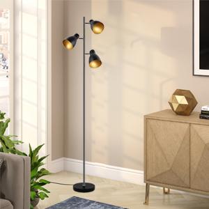 Lampadaire rétro 3 lampes