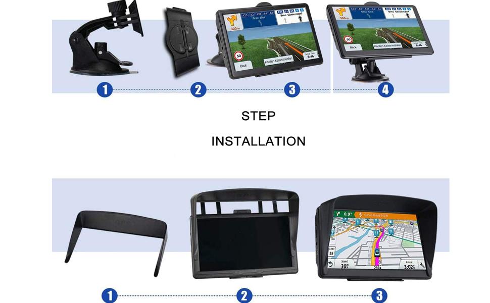 Navigate the installation steps