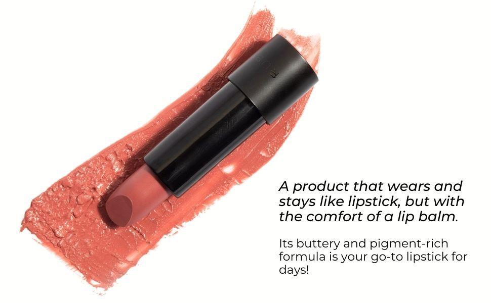 Apricot lipstick banner