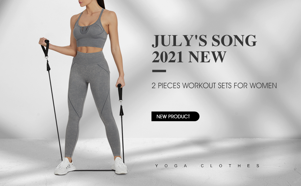 Two Piece Workout Clothes for Women