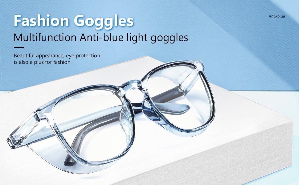 stylish safety glasses for women UV protection