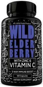 elderberry capsules with zinc and vitamin c sambucus elderberry caps