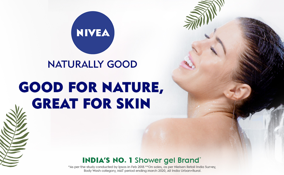 NIVEA,Women, Body Wash, Shower Gel, Moistuirzation,Nourishment