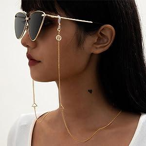 dainty glasses chain