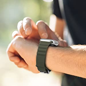 solo loop watch band compatible with apple watch band 44mm