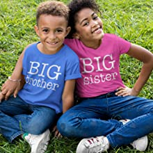 Happy Family Clothing Big Brother amp; Big Sister T-shirt Collection.