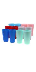4 Color Large Cups