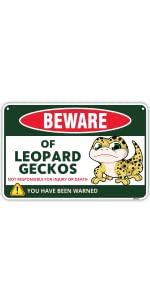 Leopard Gecko Sign