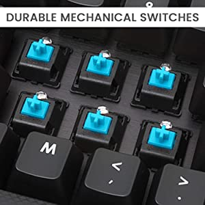 Keyboard electronics wire efficient keypad laser etched bilingual lasting usb durable switch SPN-ONL