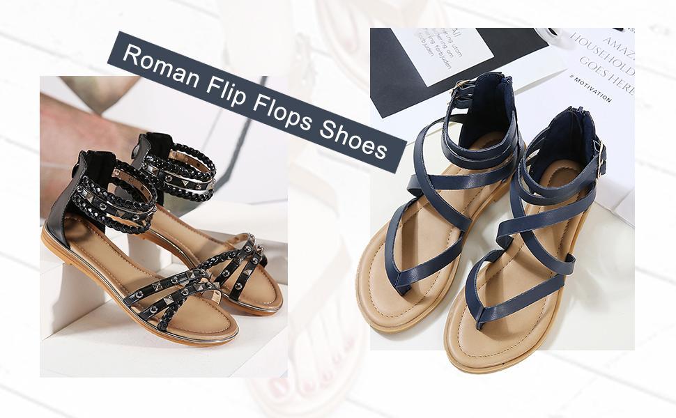 Roman Flip Flops
