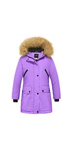girls puffer jacket winter coat