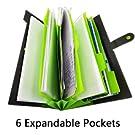 6 expandable pockets