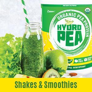 pea protein shakes & Smoothies