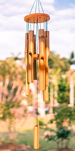 30amp;amp;#34; Bamboo Wind Chime