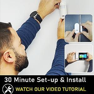 OSI Smart Wireless Alarm System - 30 Minute Install