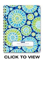Blue Green Flowers Cover