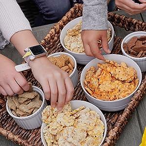 kids snacks, healthy snacks, popcorn chips, gluten free, organic, kosher, school snacks