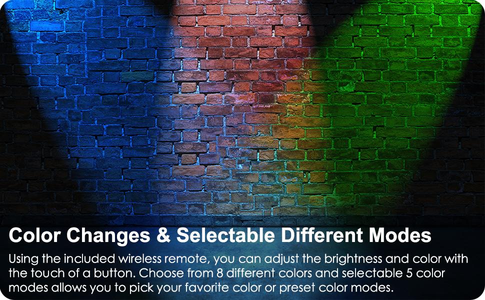 RGB LED Landscape Light