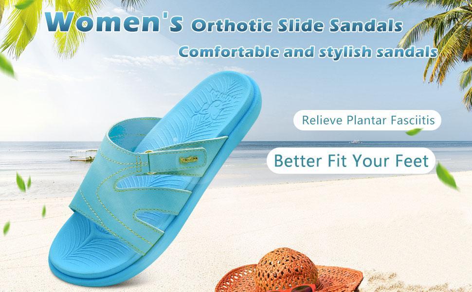 womens slides sandals