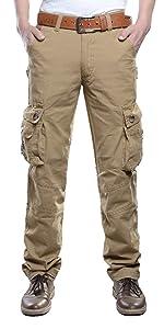 Vinbosion Casual Cargo Pants