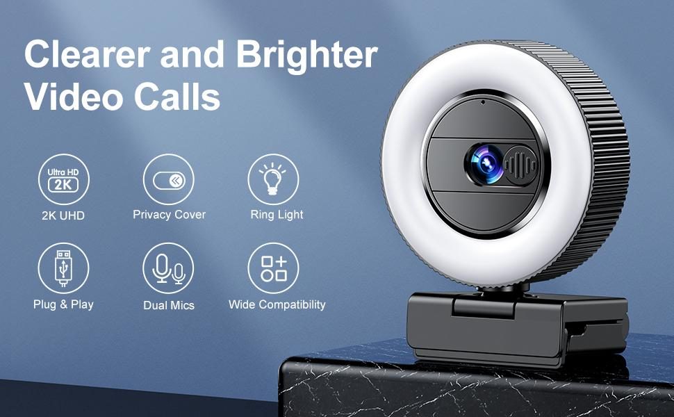 Clearer and Brighter Video Calls