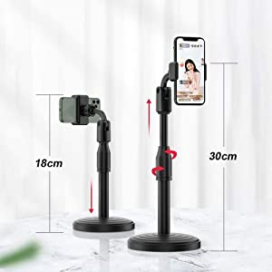 mobile stand for table mobile holder