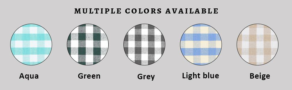 Blue Checkered Towel - Blue Plaid Towels - Buffalo Plaid Dish Towels - Dish Towels Light Blue