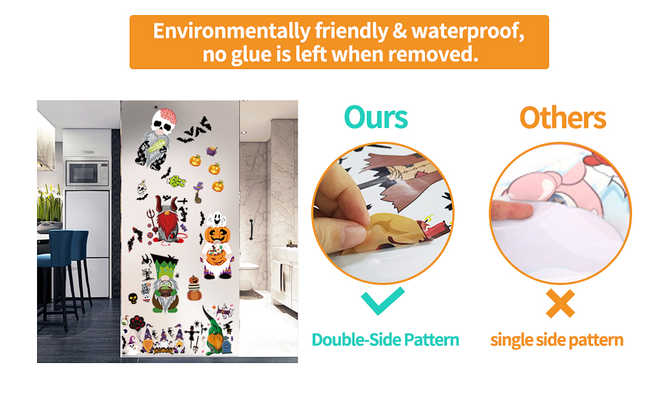 Made from high-quality waterproof PVC material, with high-definition printing